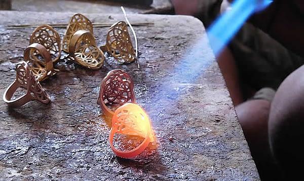Making brass rings