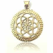 brass jewellery pendant - Avashy